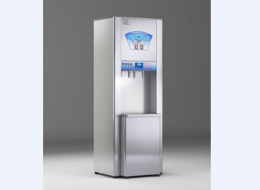商用高级按钮式电开水器
